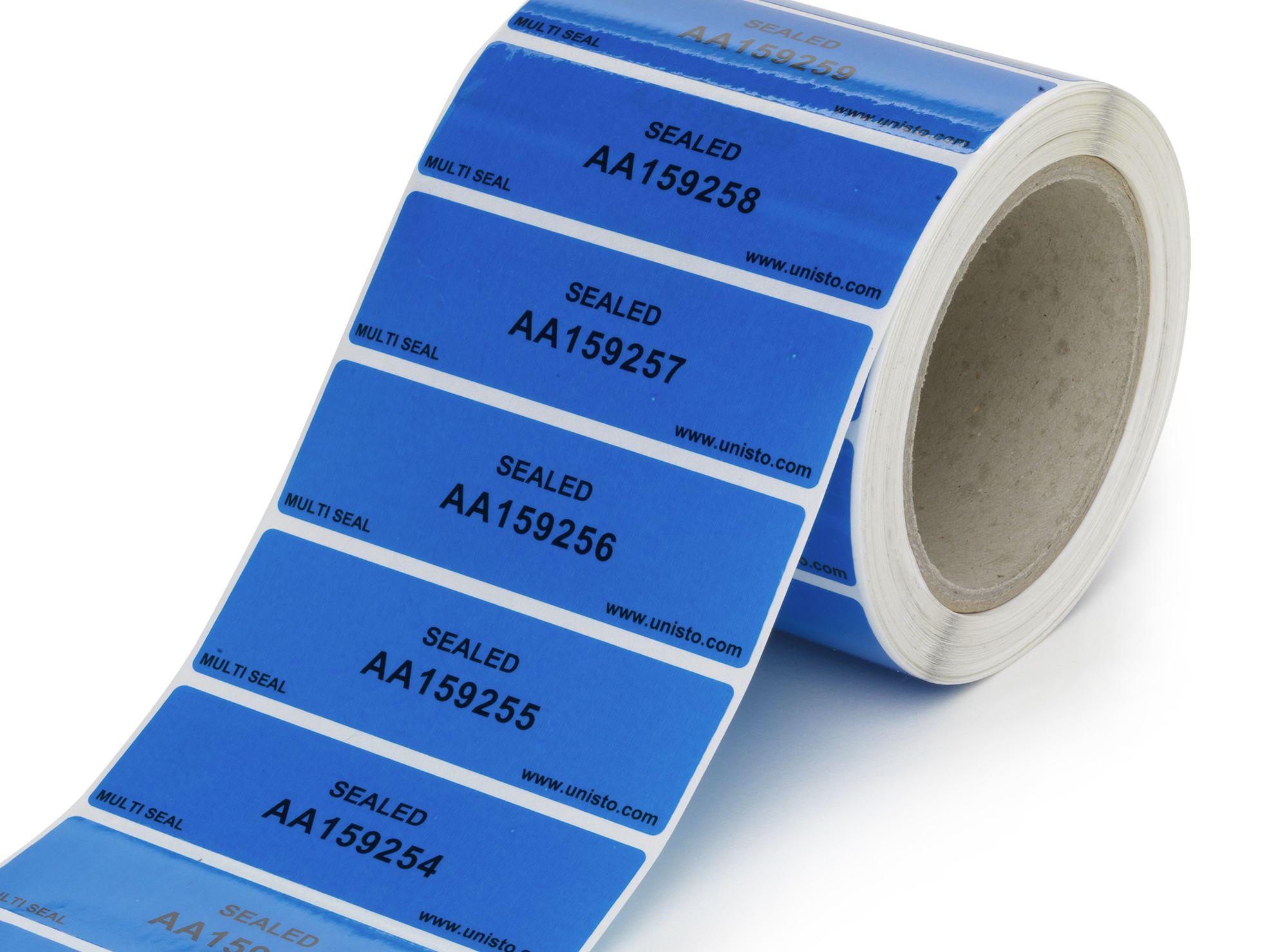 Etichetta di sicurezza Unisto Multi Seal