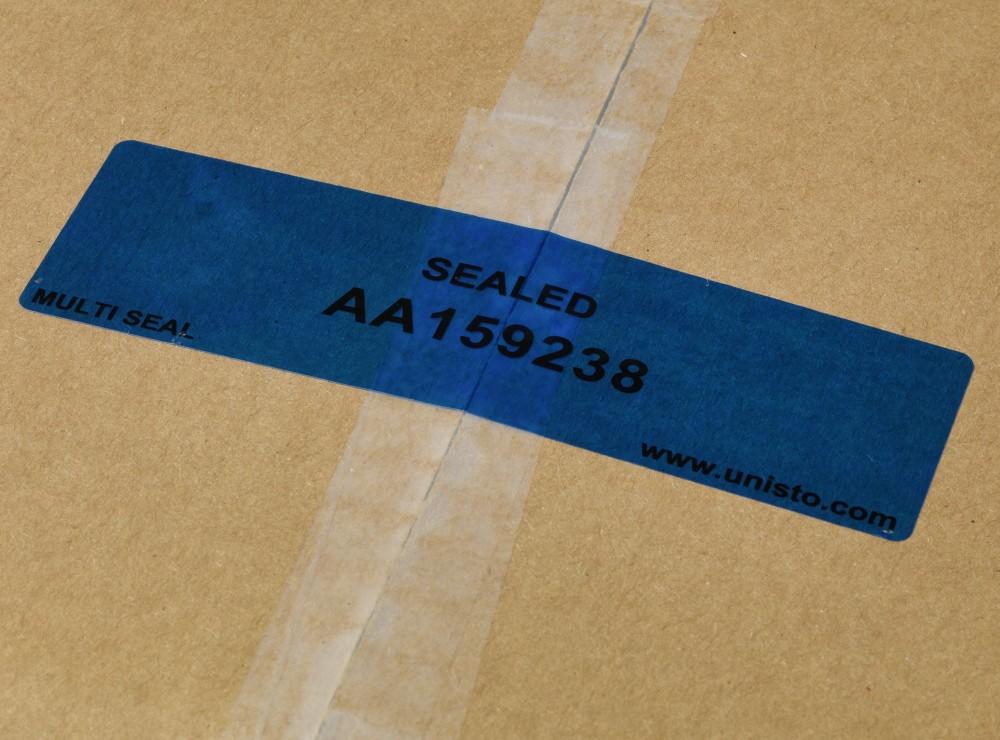 Unisto Sicherheitsetikette Multi Seal